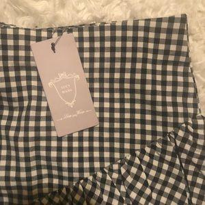 Boohoo Skirts - NWT- Ruffle Mini Skirt